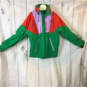 Vintage Nevica Colorblocked Ski Winter Jacket